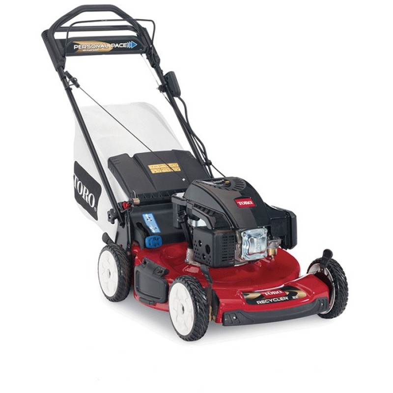 Toro Recycler Personal Pace Electric Start